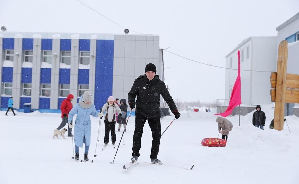В Норильске стартовал 17-й марафон здоровья «Лыжня «Норникеля» — 2021»