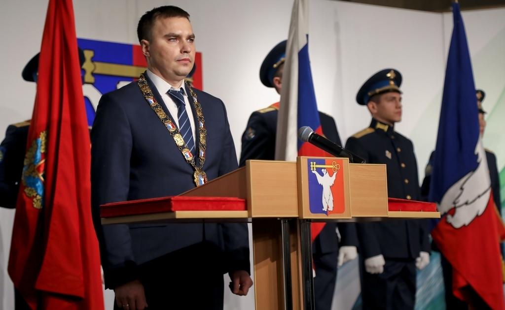 Сегодня состоялась церемония инаугурации мэра Норильска Дмитрия Карасева