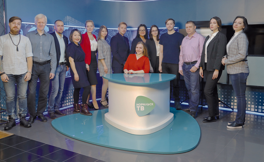 Команда телеканала Норильск ТВ