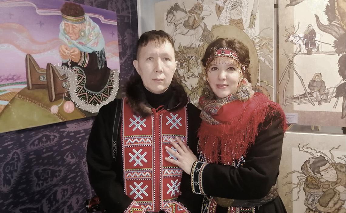 Север: версия 2.0. Евгений и Юлия Поротовы об искусстве северных народов