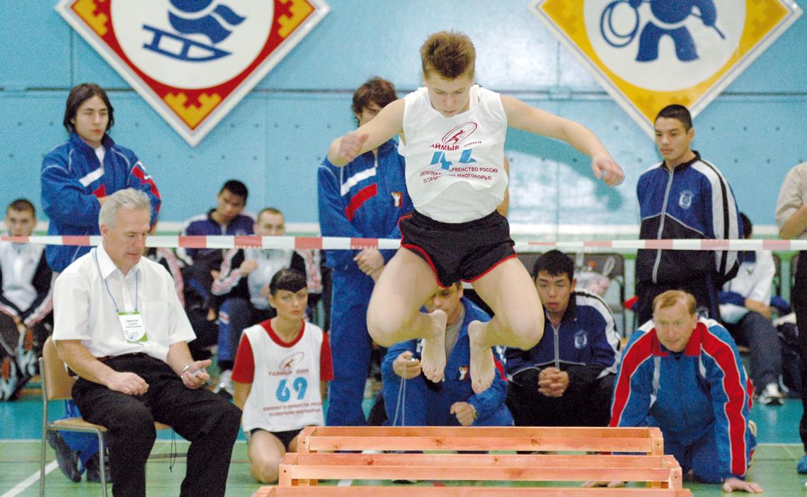 Таймырские спортсмены отличились на чемпионате и первенстве России по северному многоборью