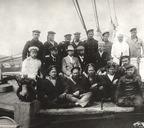 Экипаж шхуны Заря, 1900 г.