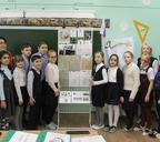 В школе № 17 открылся уголок Героя Советского Союза Василия Иннокентьевича Давыдова