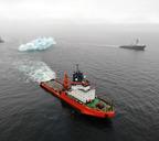 Газпром получил патент на транспортировку айсбергов