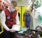На станцию скорой помощи поступили новые медицинские аппараты