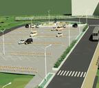 Эскизный проект благоустройства площади у Городской больницы №1 и Перинатального центра