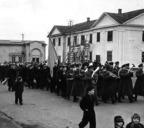 Первомайская демонстрация ул. Заводская. 1941 г