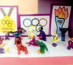 Малыши детсада «Весёлые человечки» поддержали российских спортсменов