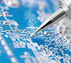 Палладий широко применяется в производстве электроники