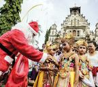 Индонезия. Джакарта. Селамат тахун бару!
