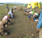 Археологические раскопки на станке Норильском