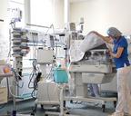 «Космическое» оборудование палаты отделения реанимации и интенсивной терапии