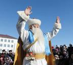 Монголия. Улан–Батор. Шинэ жилийн мэнд хургэе!