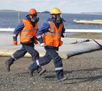 В Дудинке прошла практическая часть учений «Безопасная Арктика - 2021»