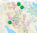 Создана интерактивная карта отключения горячей воды в Норильске этим летом