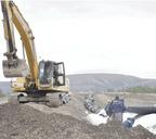 Неперерабатываемые отходы производства складируются в хвостохранилищах