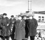 Завенягин в районе ТЭЦ-3, 1943 год