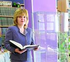 Татьяна Кочеткова на просторах Публичной библиотеки