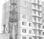 Фото 1. Строится Нансена, 62.1970 год