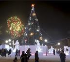 В этом году снежные городки решили открыть пораньше
