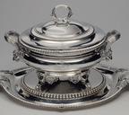 Серебряная супница с крышкой и подставкой, Великобритания, 1806 год
