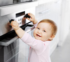 В современных плитах есть защита от детей