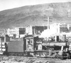 1940–е годы. На Нулевой пикет узкоколейки прибыл поезд из Дудинки