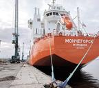 Каждое судно «Норникеля» вмещает до 18 тысяч тонн груза