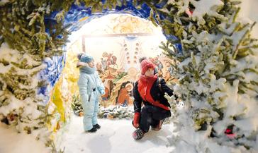 Норильчане отметили Рождество Христово и продолжают творить добрые дела на Святках