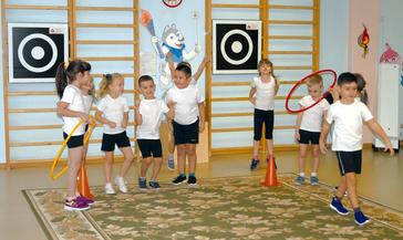 В детском саду «Снежинка» стремятся к здоровому образу жизни