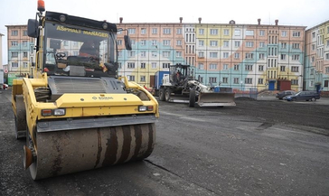 Благоустройство норильских дворов по проекту «Городская среда» идёт по графику