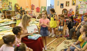 В семи детских садах начались крупные капитальные ремонтные работы