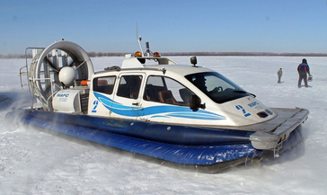Транспортная прокуратура в судебном порядке запретила норильчанину использовать маломерное судно на воздушной подушке