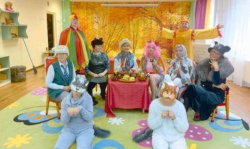 Дружный коллектив детсада «Вишенка» подготовил для ребят поучительное представление