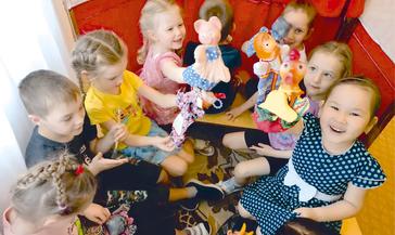 В детском саду «Тундровичок» проходит неделя театра