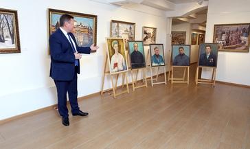 Фонды Музея Норильска пополнились новыми картинами