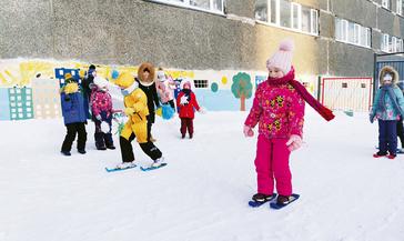 Проводы зимы в «Снежинке»