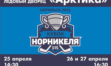 В Норильске впервые пройдет хоккейный турнир «Кубок «Норникеля»