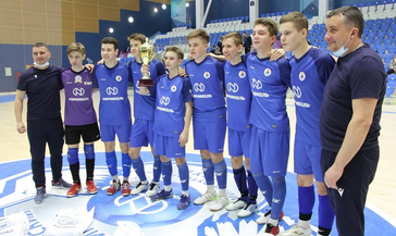 В Норильске наградили призёров проекта «Мини-футбол — в школу»