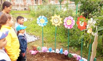 Зелёный островок зацвел в детском саду «Колокольчик»