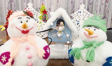 Новый год в детском садике «Топ–топ» встречают по–семейному