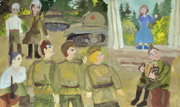 В «Юбилейном» подвели итоги дистанционного конкурса детского рисунка «Спасибо за Победу!»
