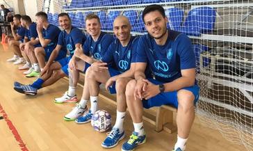 Основная команда МФК «Норильский никель» собралась вместе на первую тренировку в рамках подготовки к старту нового сезон