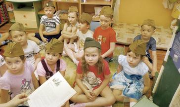 День снятия блокады Ленинграда отметили в детском саду «Полянка»