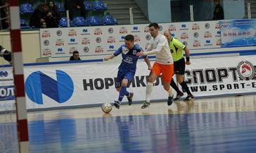 Начинаем год с победы. МФК «Норильский никель» переиграл МФК «Автодор» - 2:0.