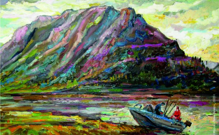 В художественной галерее открывается персональная выставка Наталии Мороз