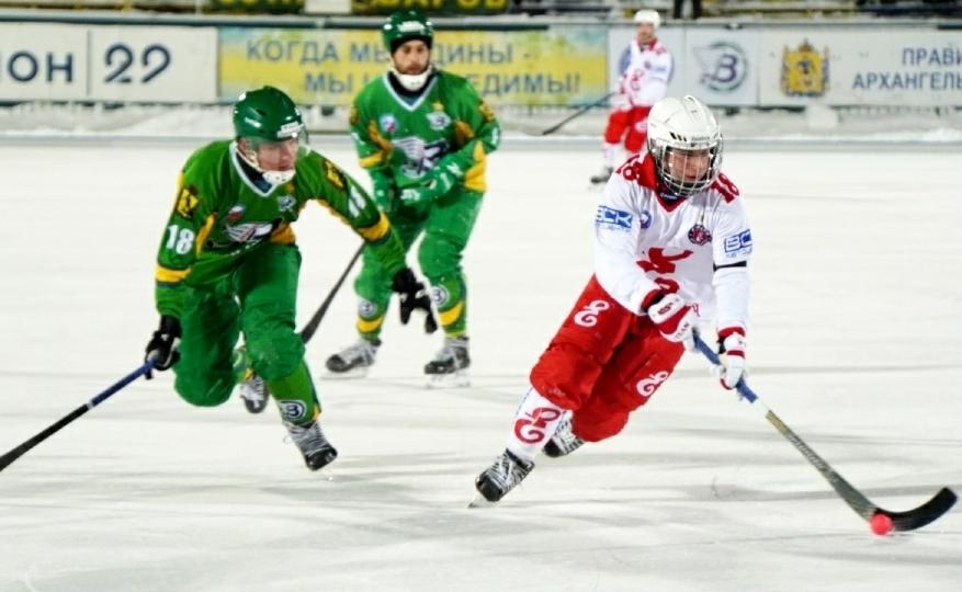 Финал чемпионата России по хоккею с мячом может пройти в Красноярске