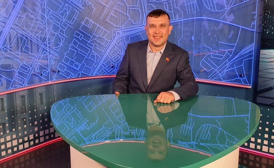Александр Пестряков побывал в гостях у телеканала Норильск ТВ